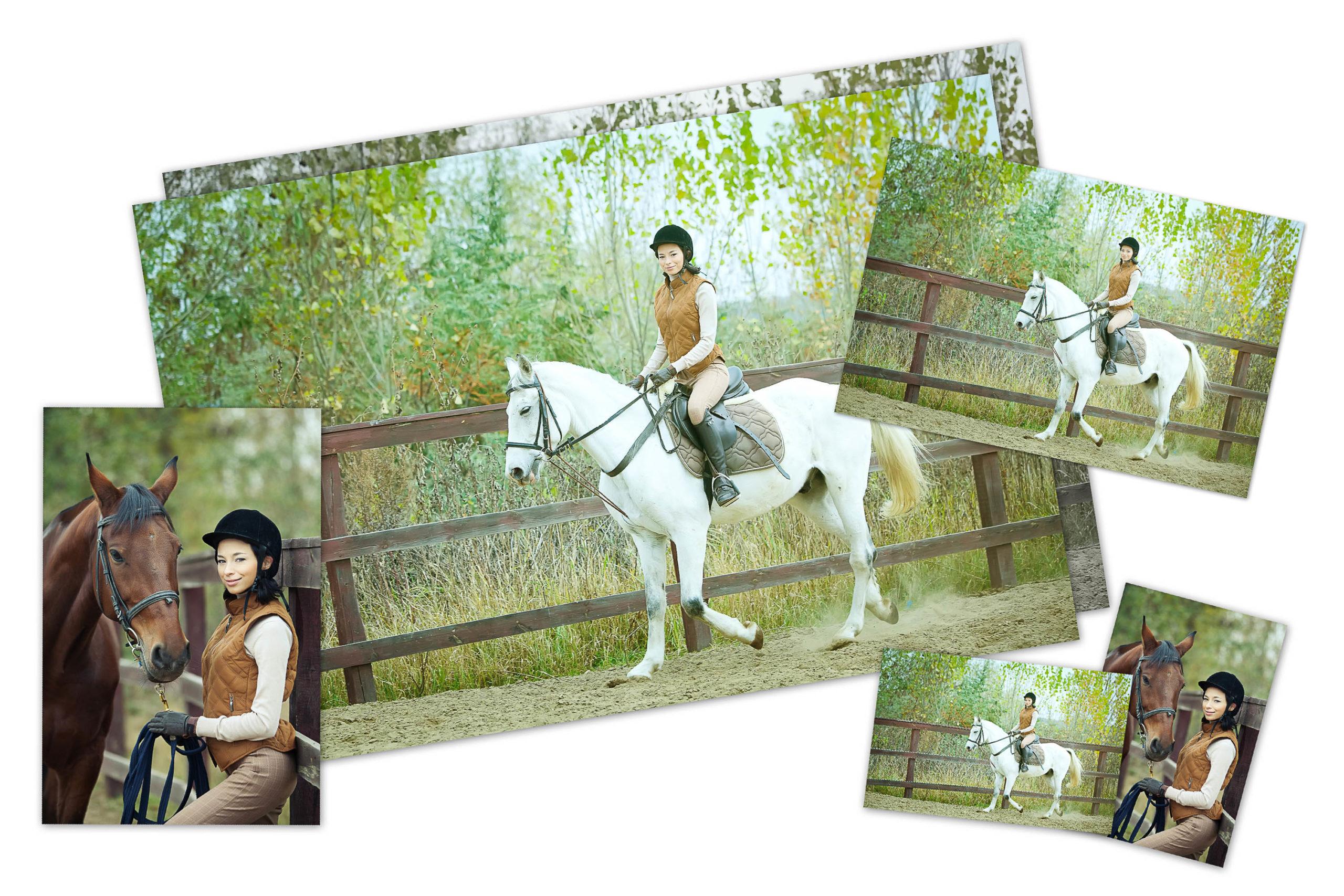 Fotografien auf Fotopapier